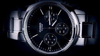 Review đồng hồ Casio MTP-1375D-1AVDF vỏ viền tạo hình khía cạnh, đồng hồ 24 giờ