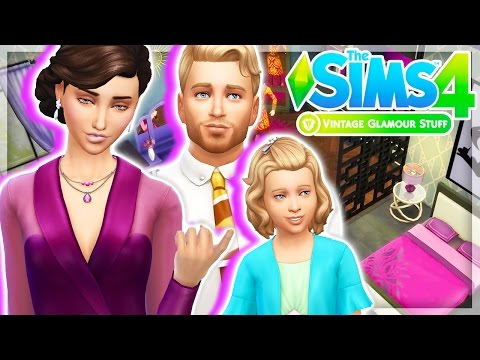 VINTAGE GLAMOUR STUFF💄👗 | The Sims 4 | CAS + BUILD & BUY – Overview