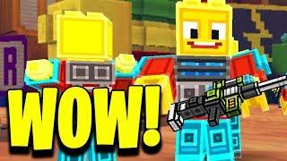 CO TAM SŁYCHAĆ W GRZE?  - Pixel Gun 3D Gamepaly