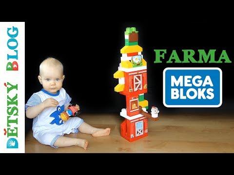 MEGA BLOKS Farma - Unboxing | Review | Tutorial | Play time