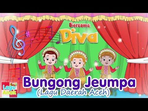 BUNGONG JEUMPA (Bunga Cempaka) | Diva Bernyanyi | Lagu Daerah | Lagu Anak Channel