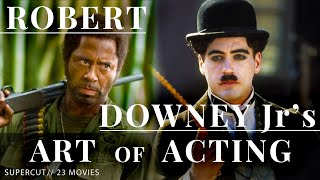 Robert Downey Jr.'s Acting Supercut - 23 movies in 3 minutes
