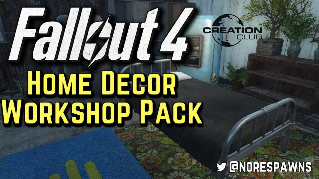 Fallout 4 creation club home decor workshop pack