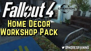 Fallout 4 Creation Club - Home Decor Workshop Pack