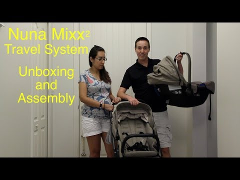 Nuna Mixx2 Unboxing and Assembly