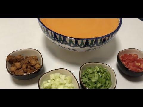 Repeat Gazpacho En Monsieur Cuisine Connect Receta De Mi