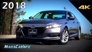 2018 Honda Accord LX - Ultimate In-Depth Look In 4K