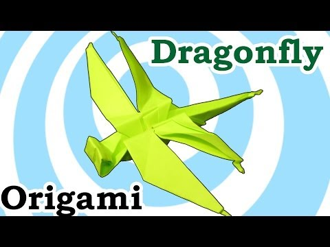 How to Make an Origami Dragonfly | 360x480