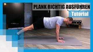 Tutorial: Die Plank richtig machen 💪