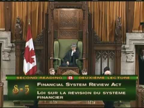 Elizabeth May: Financial System Review Act