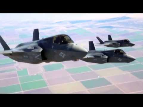 KC-130J Refueling F-35B And AV-8B