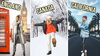 WINTER outfits for EVERY COUNTRY from CANADA to AUSTRALIA ☆ ft. boohoo
