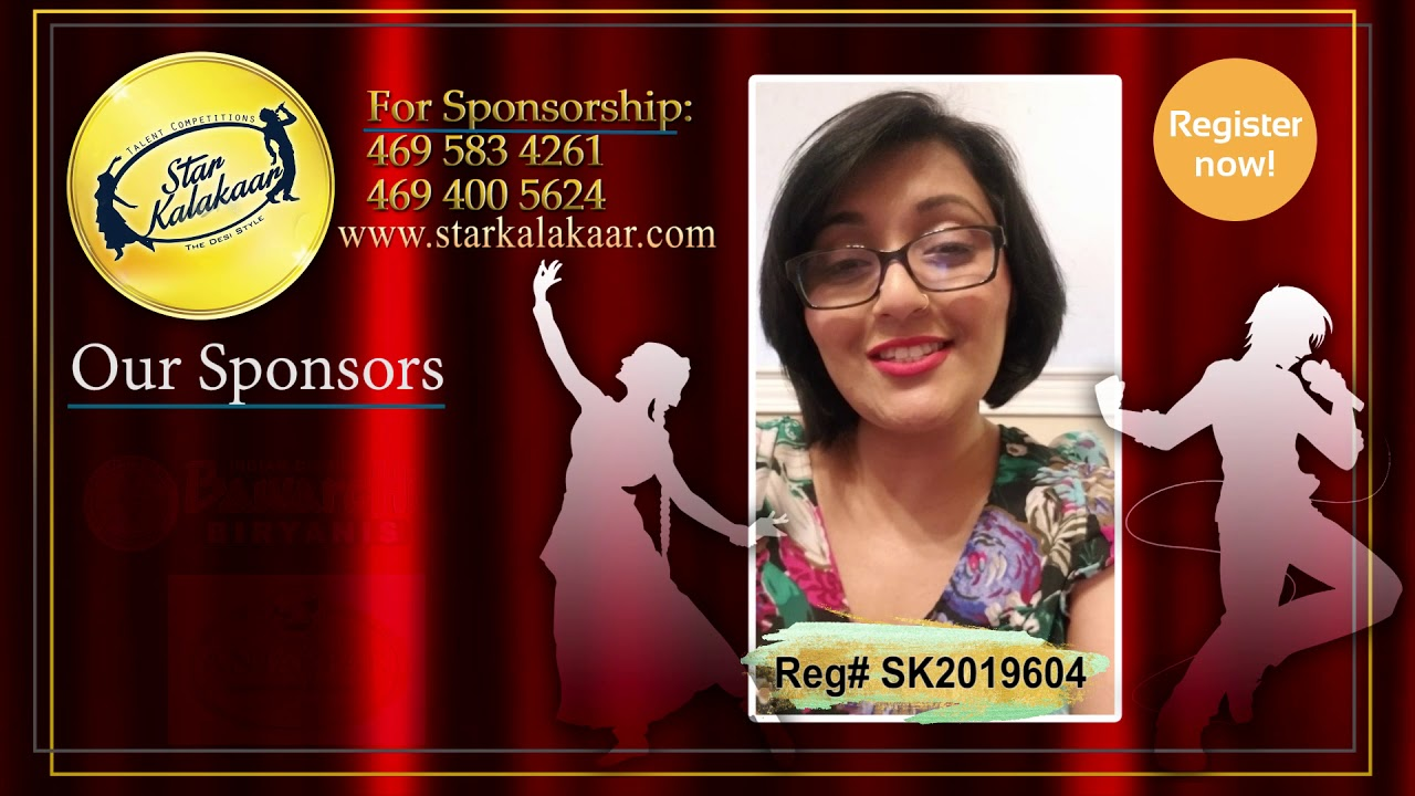 Registration NO - SK2019604 - Introduction Videos StarKalakaar-2019 #SK2019