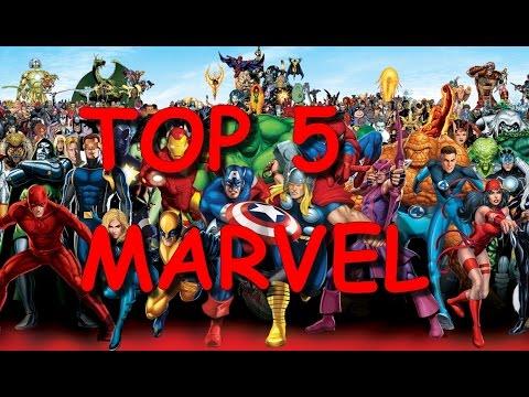 Top 5 de mes personnages préféré de Marvel Comics !
