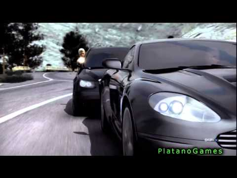 007 Quantum of Solace - James Bond Title Intro Video - HD