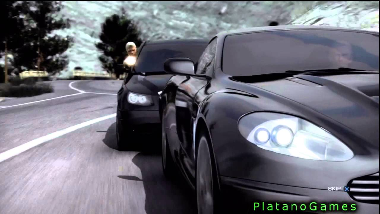 007 Quantum Of Solace James Bond Title Intro Video Hd