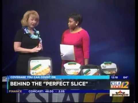 Perfect Slice Bakeware by BergHOFF Featured on KSLA-TV CBS, Shreveport, LA