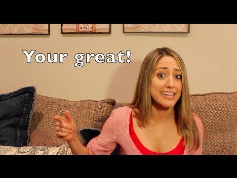 Grammar Get It #5: You're Versus Your