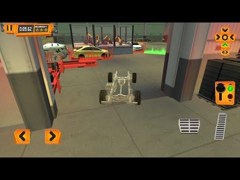 Car Factory Parking Simulator a Real Garage Repair Shop Racing Game Part-1