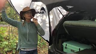 Napier van tent evaluation