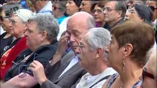 INAUGURATION DU BUSTE DE SALVADOR ALLENDE A L'ULB LE  JUIN 2014