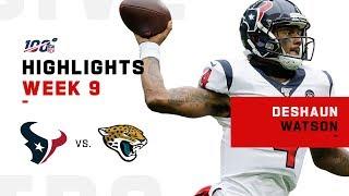 Deshaun Watson Highlights vs. Jags