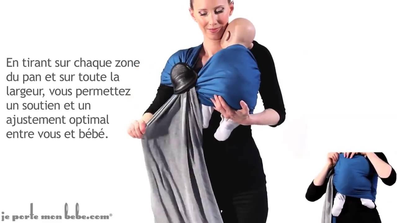La Petite Echarpe Sans Noeud JPMBB avec nouveau né - YouTube b0ee4f7b766