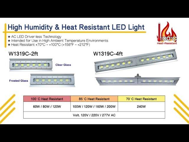 High Power & Heat Resistant LED Lighting_W1319C (60W~240W)