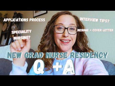 Q + A: NEW GRAD NURSE RESIDENCY PROGRAMS
