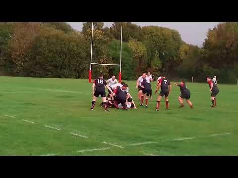 UWS Rugby v Alumni match – kick off