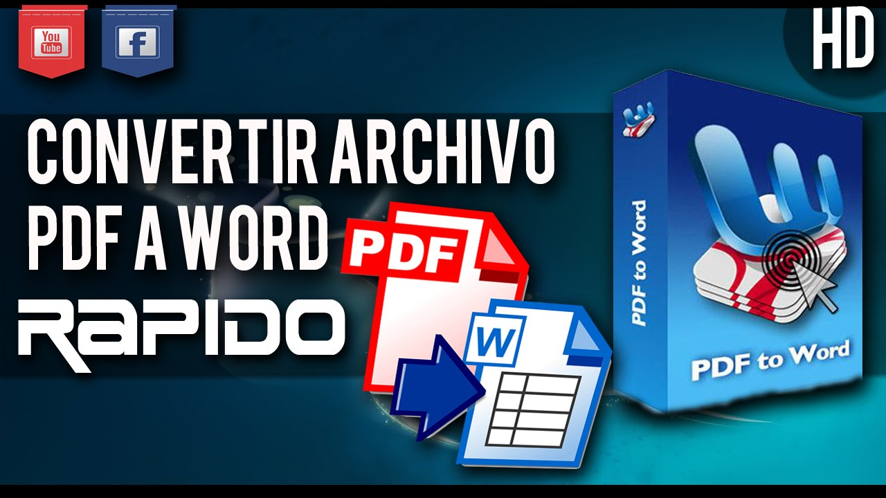 descargar programa para convertir archivos pdf word download free software
