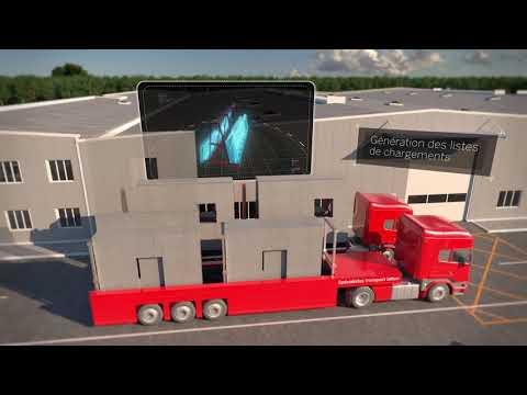 Trimble Tekla 2020 pour le Béton Préfabriqué