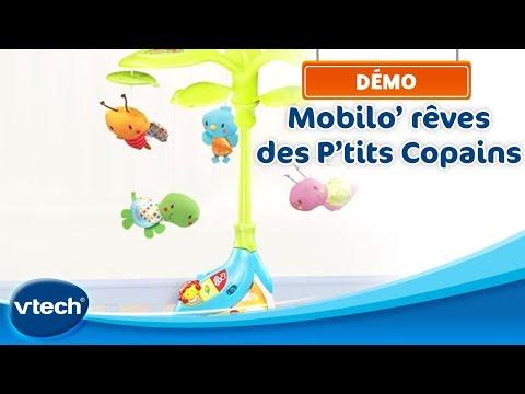 Mobilo' rêves des P'tits Copains - Un mobile parlant et musical | VTech