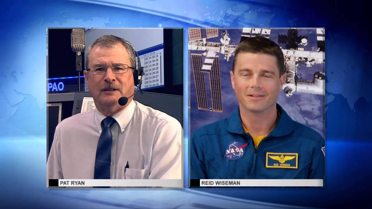Space Station Live: Astronaut Reid Wiseman - YouTube