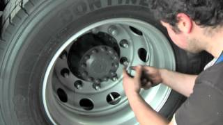 TPMS, LED Reifendruckkontrolle für Trucks (SZM), LKW und Trailer (Auflieger bzw. Anhänger)