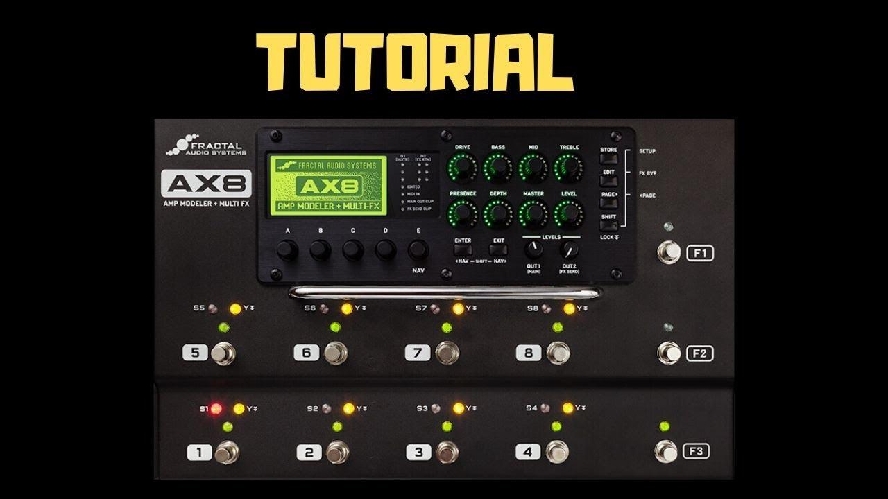 FAS AX8 Control Switch Tutorial