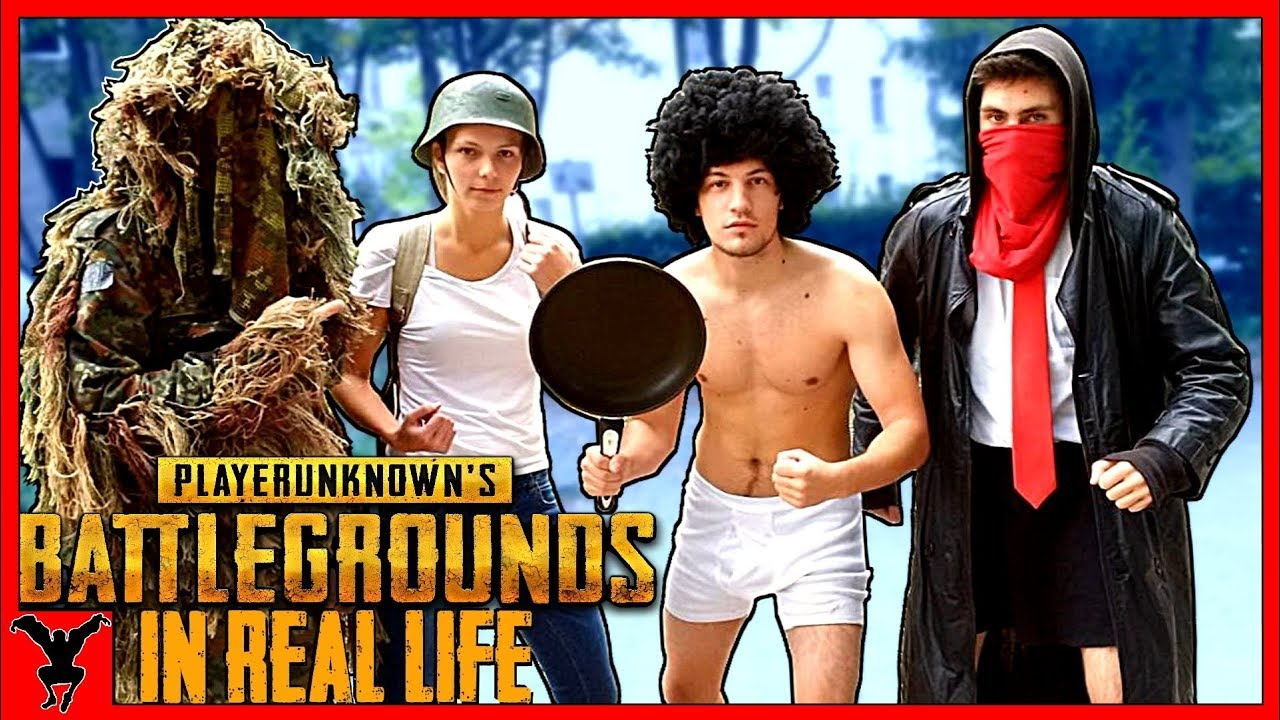 BATTLEGROUNDS In Real Life [ PUBG Pranks ]