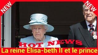 La reine Élisabeth II et le prince Philip, affaibli, fêteront leur 70e anniversaire