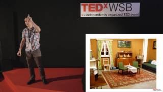 Klucz do skutecznej kreatywnosci: Tomasz Bąkowski at TEDxWSB