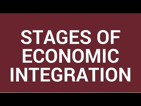 Stages of economic integration