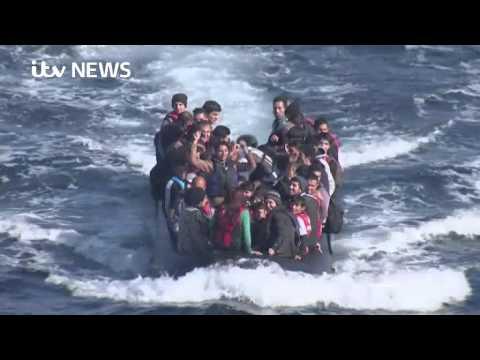 #TheJourney (Part 1): Refugees arrive on European shores