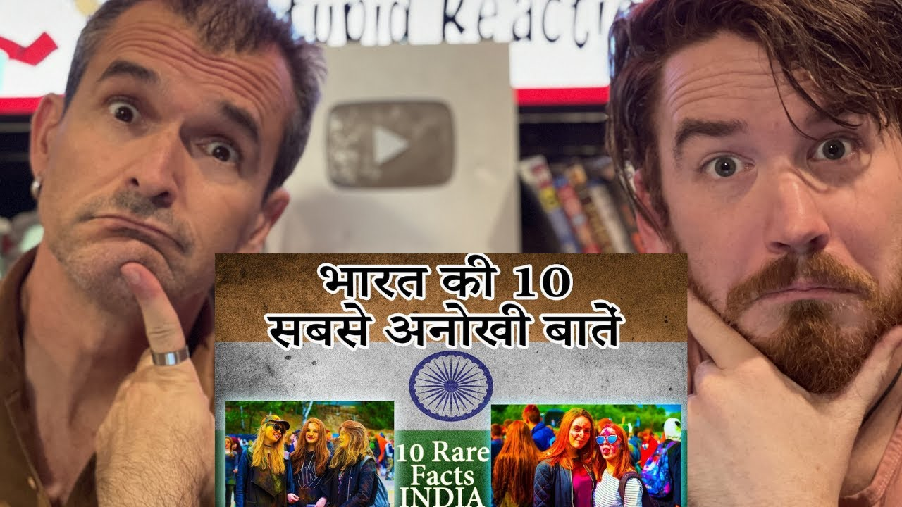Top 10 RARE facts about India You never heard Before REACTION!!