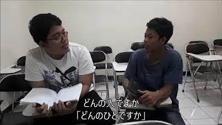 JIKOSHOUKAI 自己紹介 (Nana, Celia, Lany, Djoko, Abdul)
