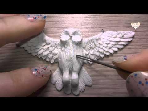 """Подвеска """"Сова"""" из полимерной глины / Polymer Clay Owl Necklace"""