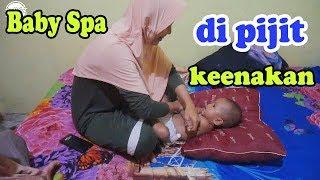 keisha pijet | baby spa | baby massage | bajidot mudik