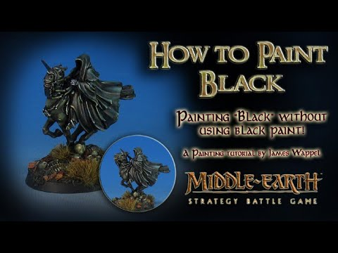 "On the Workbench: How to paint Black without ""Black"""