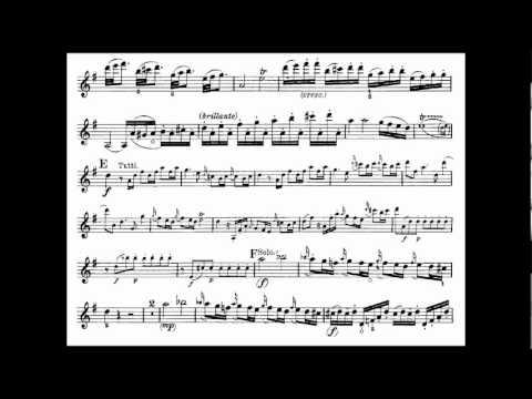 Mozart, Wolfgang A. mvt1 3rd violin concerto KV 216