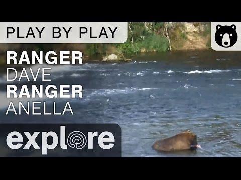 Ranger's Dave and Anella Play By Play - Brown Bears - Katmai, Alaska Ep.06 - 7.13.16