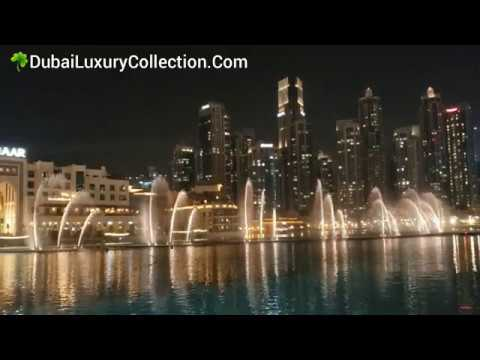 Dubai Fountain at Burj Khalifa Lake, United Arab Emirates (UAE) 2019 ~ DubaiLuxuryCollection.Com ☘