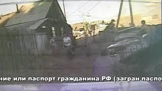Житель Бузулука разбил свой автомобиль «ВАЗ 2107», который собирались эвакуировать